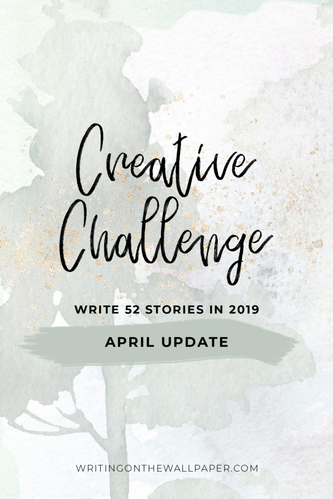 Creative Challenge: April Update